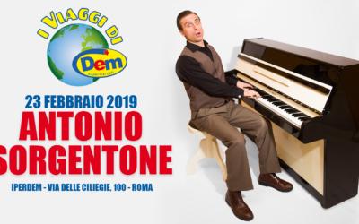 I Viaggi di DEM parte il suo tour con ANTONIO SORGENTONE